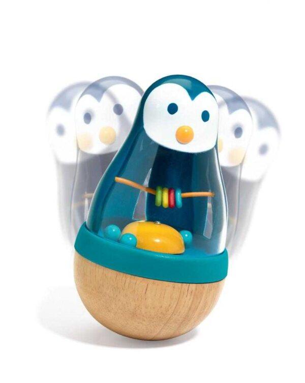 Jucarie educativa bebe - Pinguinul Roly Pingui -Djeco