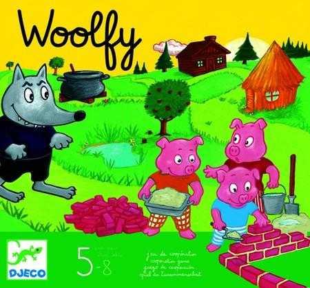 Joc de cooperare - Woolfy - Djeco