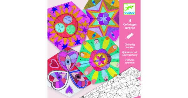 Crafturi din hartie - Mandala constelatii - Djeco