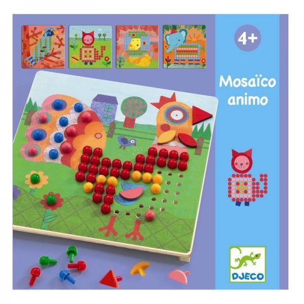 Joc educativ - Mosaic animo - Djeco