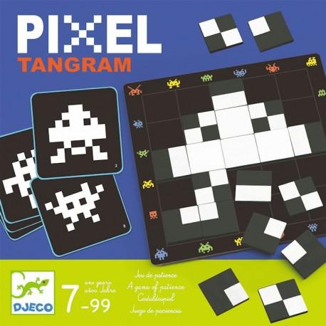 Joc tactic - Pixel Tangram - Djeco