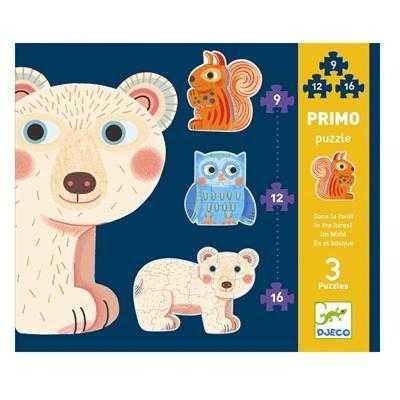 Set Puzzle-uri evolutive - Animale - Djeco
