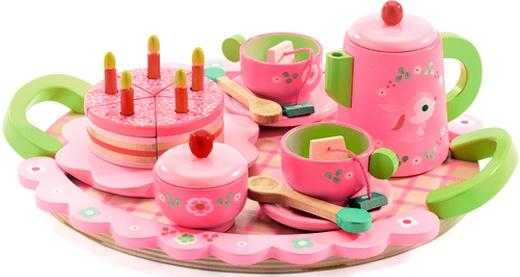 Set aniversar - Ceai si tort - Djeco