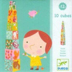 Turn de construit pentru copii - Padure - Djeco