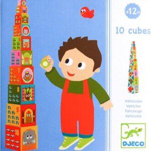 Turn de construit - Masini - Djeco