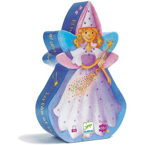 Joc de gandire - Puzzle Zana si unicornul - Djeco