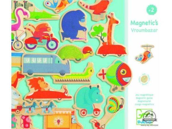 Joc cu magneti - Vroumbazar - Djeco