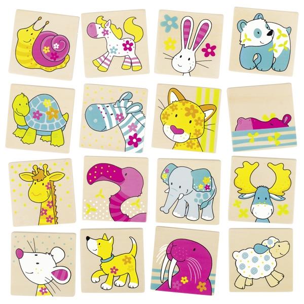 Joc de memorie - Susibelle si prietenii - Goki