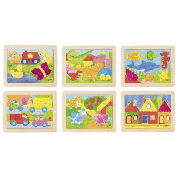 Joc de gandire - Puzzle 1000 de culori - Goki