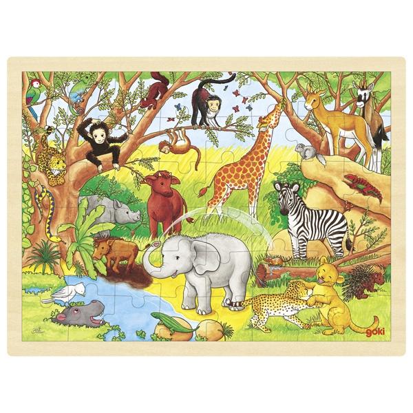 Joc de gandire - Puzzle Africa - Goki