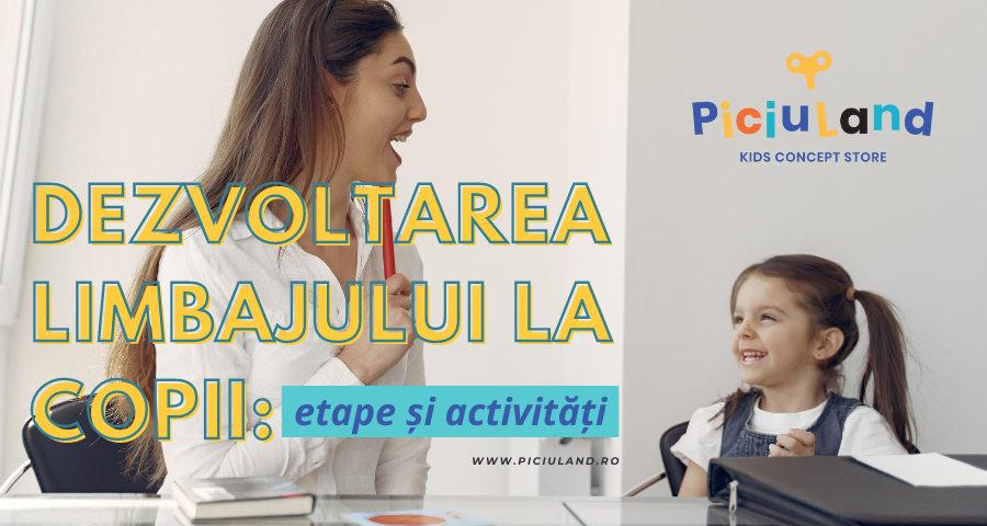 Dezvoltarea limbajului la copii: etape și activități