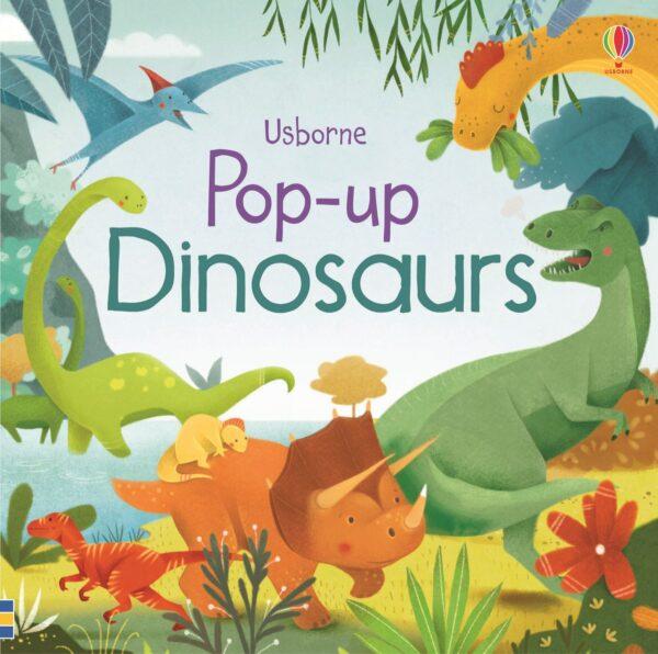 carte copii pop-up dinosaurs