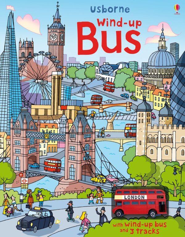 Carte pentru copii - Wind-up: Bus - Usborne