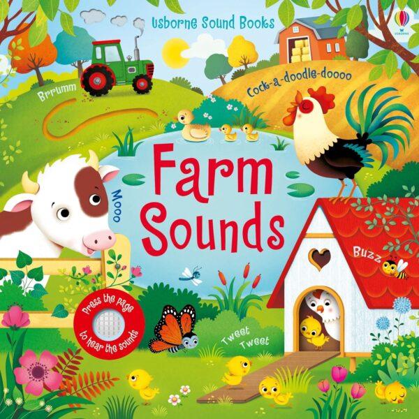 Carte pentru copii - Farm Sounds - Usborne