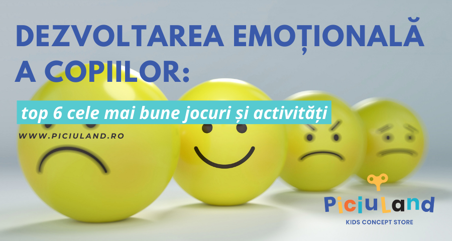 Dezvoltarea emoțională a copiilor: top 6 cele mai bune jocuri și activități